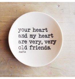 MB Art Studios Your Heart Dish