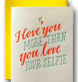 Ladyfingers Letterpress Your Selfie