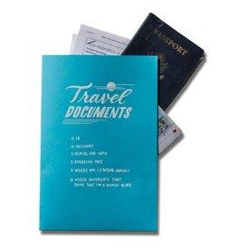 Ladyfingers Letterpress Travel Docs