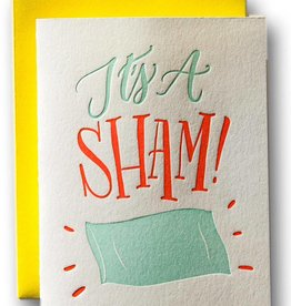 Ladyfingers Letterpress It's a Sham