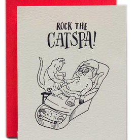 Ladyfingers Letterpress Rock the Catspa