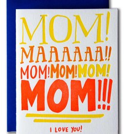 Ladyfingers Letterpress Mom Yelling