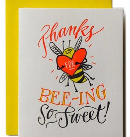 Ladyfingers Letterpress Bee-ing So Sweet