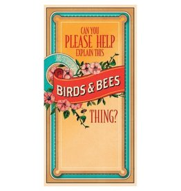 Easy Tiger Birds and Bees Card