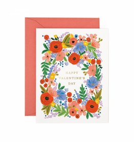 Rifle Paper Floral Valentine's Day Card
