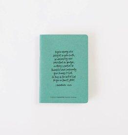 Val Marie Paper Prayer Journal, Emerald