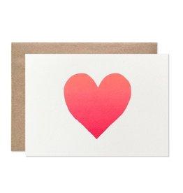 Hartland Brooklyn Neon Ombre Heart