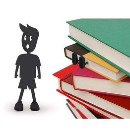 Kikkerland Black Bookmark