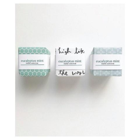 Lola Jane Fizzing Bath Cube, Eucalyptus Mint