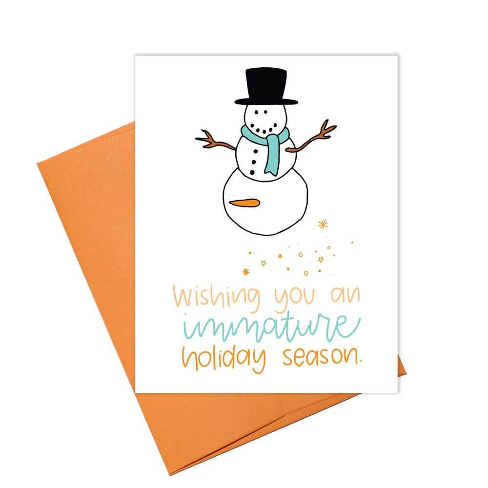 Colette Paperie Holiday Immature