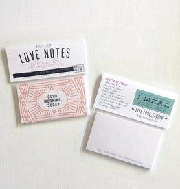 Live Love Studio Love Mini Notes