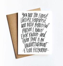 Live Love Studio Fitzgerald Quote