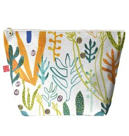 Casey D. Sibley Lg. Travel Pouch - Flora