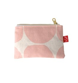 Casey D. Sibley Card Pouch - Stones Blush