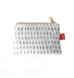 Casey D. Sibley Mini Pouch - Spots Grey