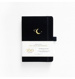 Archer and Olive Crescent Moon Journal, Dot Grid