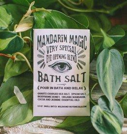 Wild Honey Botanicals Mandarin Magic Bath Salt Soak