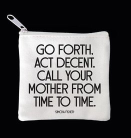 Quotable Call Your Mother Mini Pouch