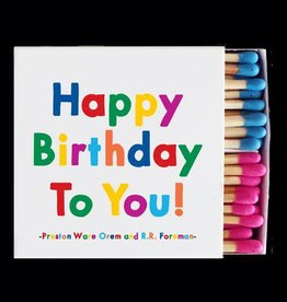 Quotable Happy Bday to You Matches