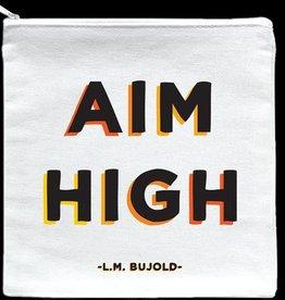 Quotable Aim High Pouch