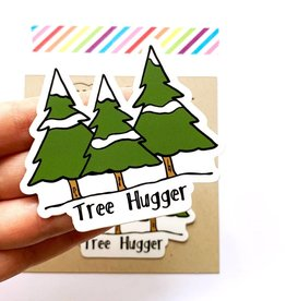 Yellow Daisy Paper Co. Tree Hugger Sticker