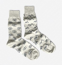 Friday Sock Co. Mountains & Waves, Men's