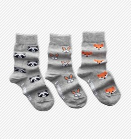 Friday Sock Co. Forest Animals, Ages 5-7