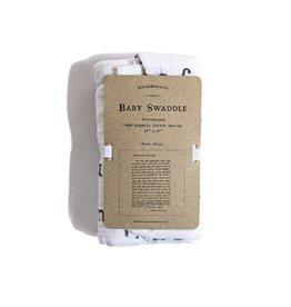 SugarBoo Designs Swaddle - Letter to Sophie