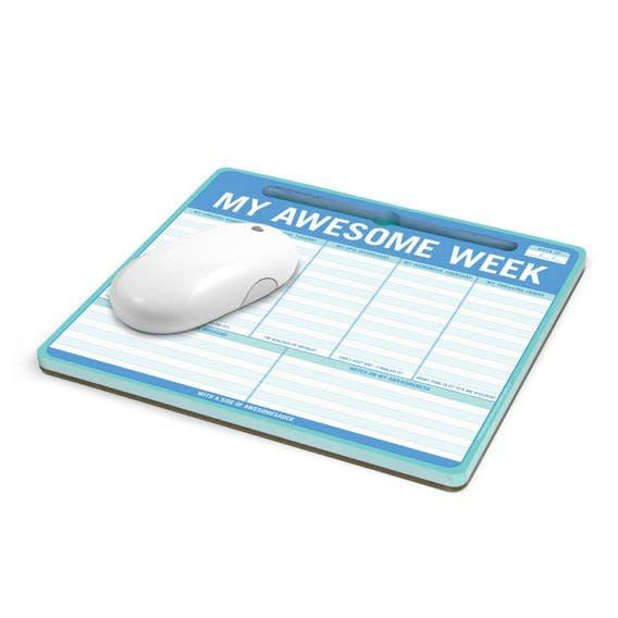 Knock Knock Mouse Pad: Awesome Week