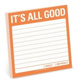 Knock Knock Sticky Note: It's All Good