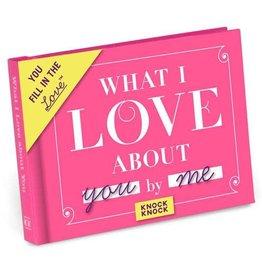 Knock Knock Fill-In-The-Love: Love