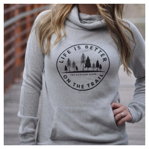 The Montana Scene Life is Better Cowl, XL