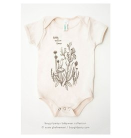 Boy Girl Party Little Nature Lover Onesie, 0-3 Mo.