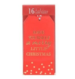 Graphique Merry Little Xmas Gift Tags