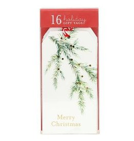 Graphique Watercolor Pine Gift Tags
