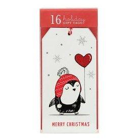 Graphique Penguin Balloon Gift Tags
