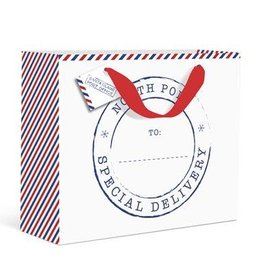 Graphique North Pole Gift Bag
