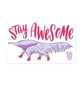 Frog and Toad Stay Awesome Sticker
