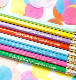 Taylor Elliott Throw Kindness Around Pencils, Set/8