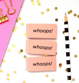 Taylor Elliott Whoops! Erasers, Set/3