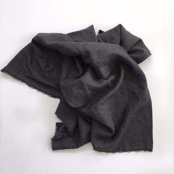 Madly Wish Receiving Blanket, Dark Gray