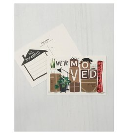 Idlewild Co. We've Moved Postcards