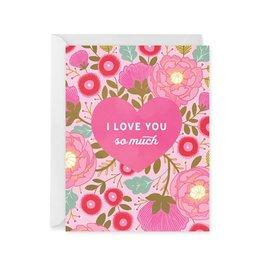 Paper Raven Co. Heart Bouquet