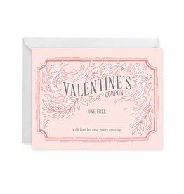 Paper Raven Co. Valentine Coupon