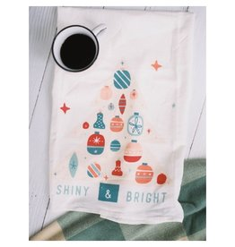 Doe A Deer Shiny and Bright Tea Towel