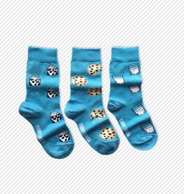 Friday Sock Co. Milk & Cookies, Ages 5-7