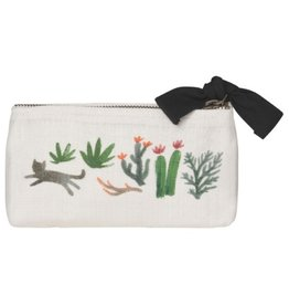 Now Designs Secret Garden Pencil Cosmetic Bag
