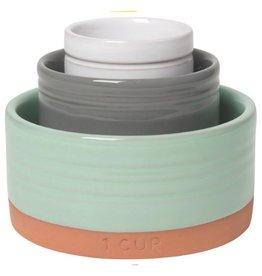 Now Designs Nesting Prep Bowls, Terracotta