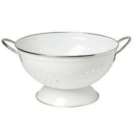 Now Designs White Colander, 3 Qt
