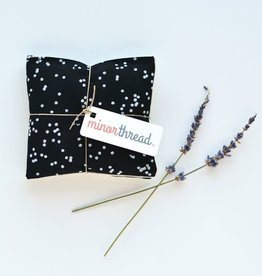 Minor Thread Lavender Sachets, Confetti Black
